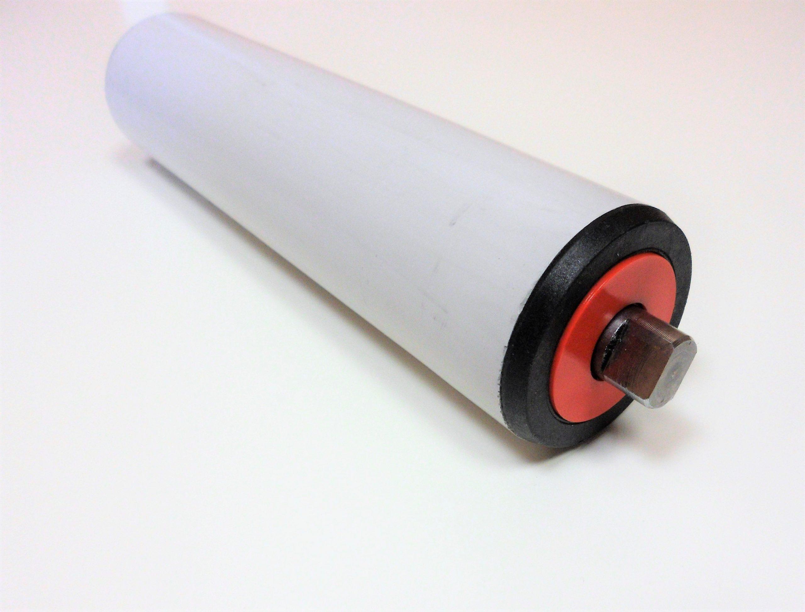 rouleau pour convoyeur avec tube pvc et roulements normalisés étanches